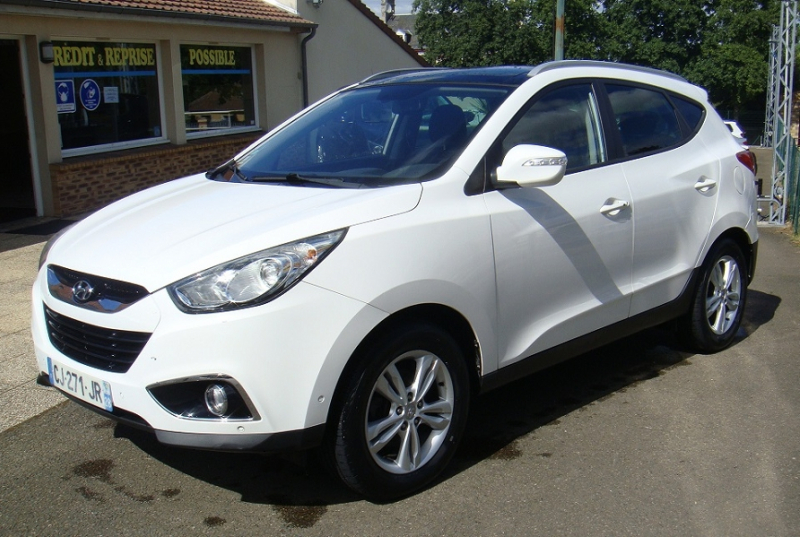 Hyundai IX35 1.7 CRDI PANORAMIC SUNSATION / IX35 I / PH1 Diesel BLANC Occasion à vendre