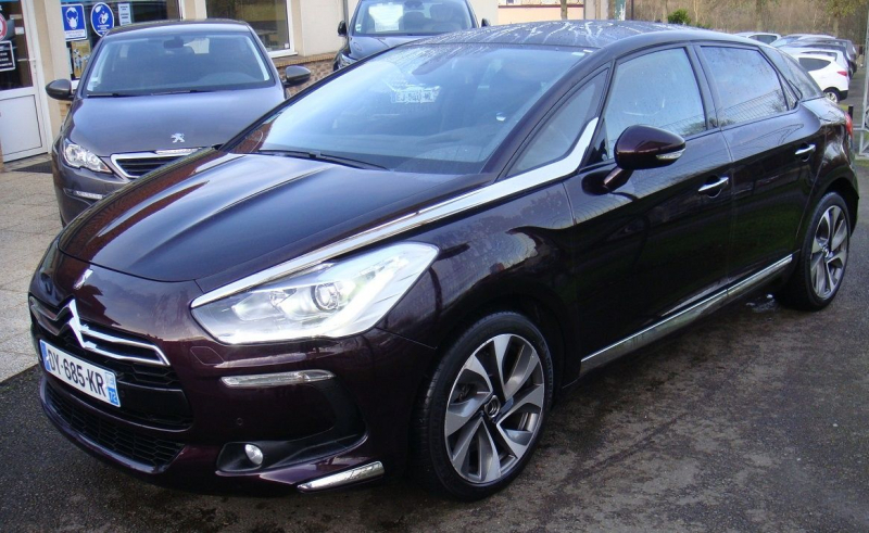 Citroen DS5 2.0 BLUEHDI180 SPORT CHIC S&S EAT6 Diesel GRIS C Occasion à vendre