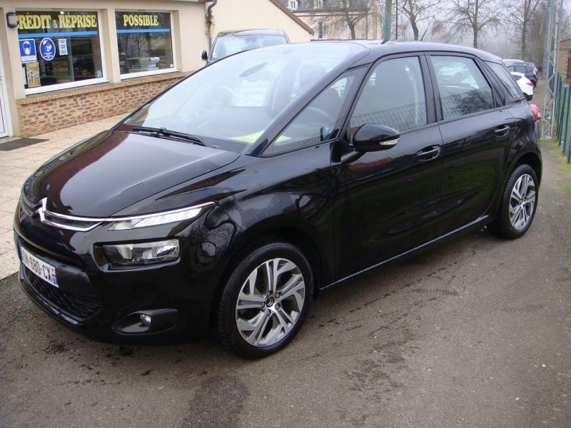 Citroen C4 PICASSO BLUEHDI 150CH BUSINESS S&S EAT6 Diesel NOIR Occasion à vendre